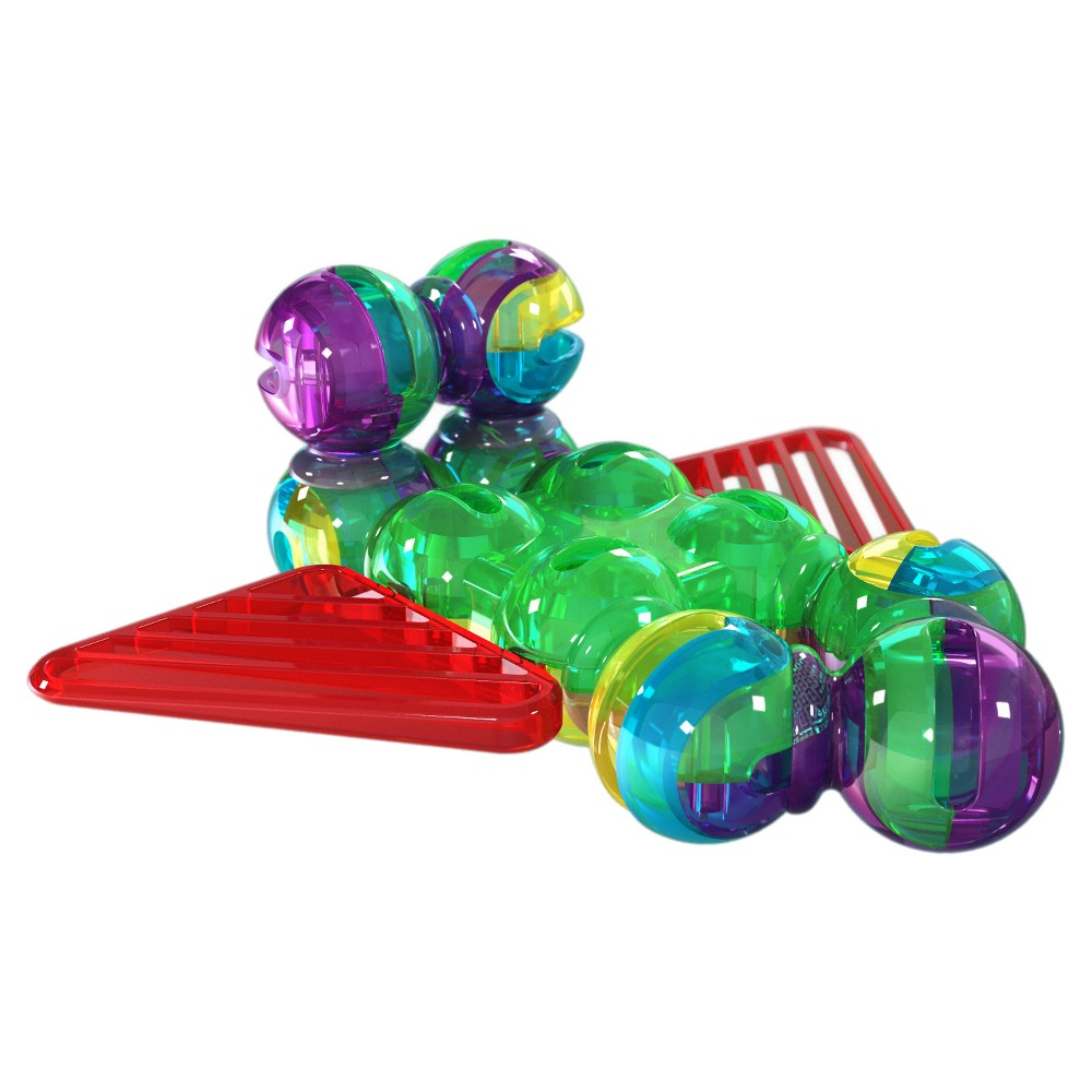 Lite Poppers STEM Learning 2 in 1 Plane Construction Toy Kit