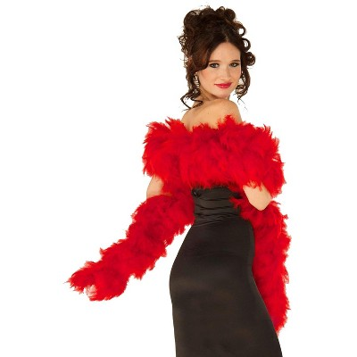 Forum Novelties Deluxe Feather Boa (Red)