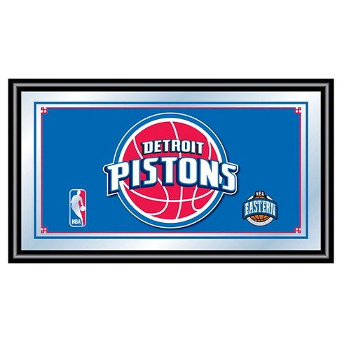 Detroit Pistons Team Logo Wall Mirror - image 1 of 1