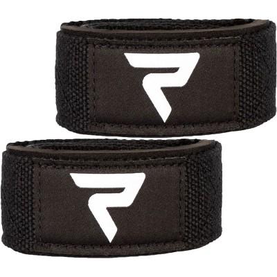 Performa Premium Padded Weight Lifting Straps - Black/White
