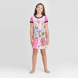 Girls' JoJo Siwa Dorm Nightgown - Pink