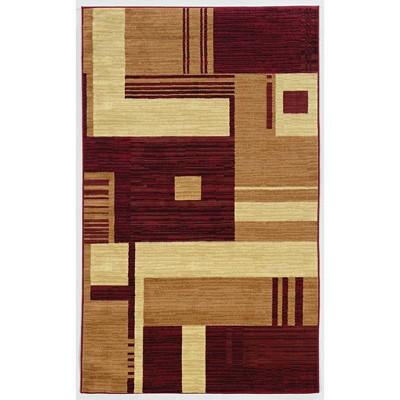 Capri Squares Pattern Rug - Linon