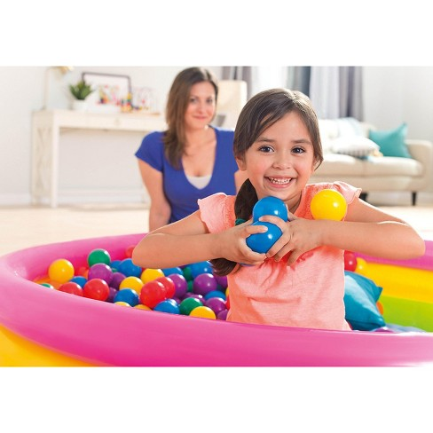 100-Pack Intex Small Plastic Multi-Colored Fun Ballz For A Ball Pit | 49602EP - image 1 of 6