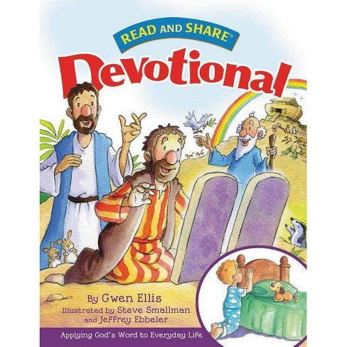 Read and Share Devotional - (Read and Share (Tommy Nelson)) by  Gwen Ellis (Hardcover) - image 1 of 1