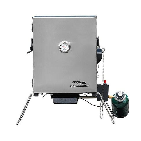 Portable Propane Smoker - Black - Model 2.0050216E7 - Masterbuilt - image 1 of 3