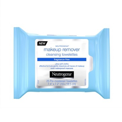 Neutrogena Fragrance-Free Makeup Remover Cleansing Wipes - 25ct