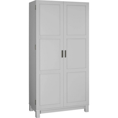 Paramount 64  Storage Cabinet Light Gray - Room & Joy