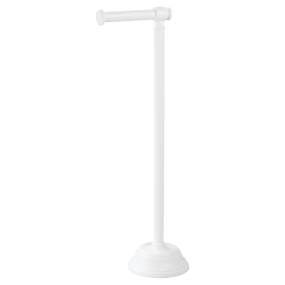 Image of Free Standing Toilet Paper Holder White - InterDesign