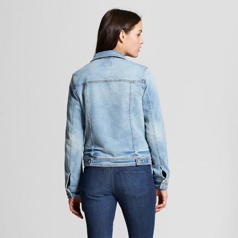 Women s Denim Jacket - Universal Thread™ Blue   Target 8411970e13