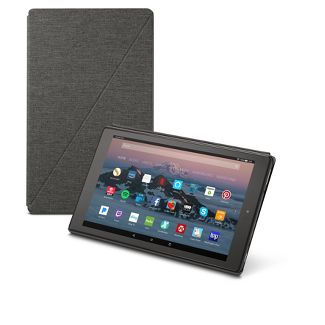 Amazon Fire HD 10 Tablet Case (7th Generation, 2017 Release) - Charcoal Black
