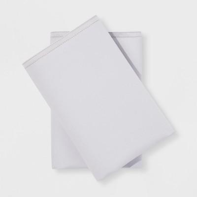 Modern Pillowcases (Standard)Gray Hem 300 Thread Count - Project 62™ + Nate Berkus™