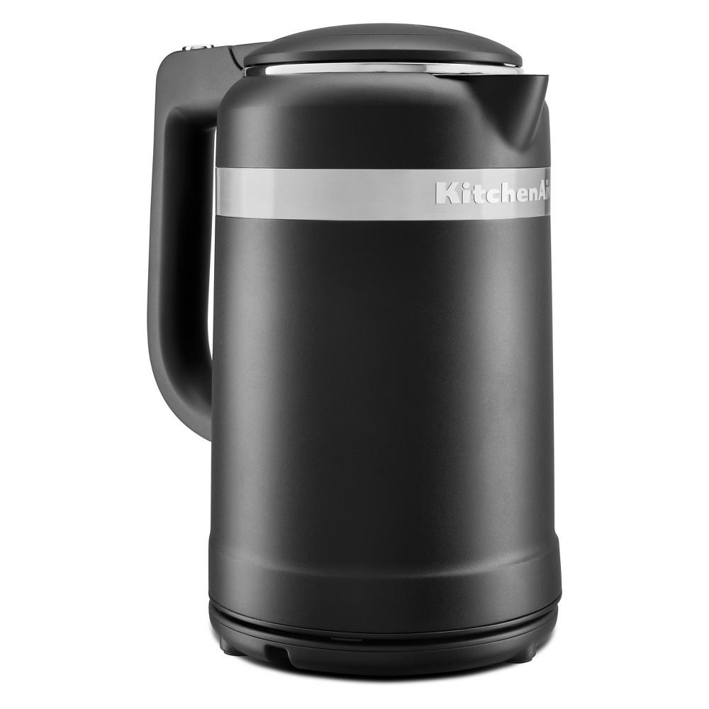 Image of KitchenAid 1.5L Electric Kettle Matte Black - KEK1565BM
