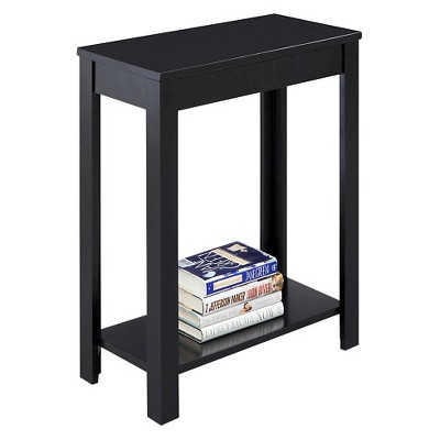 "End Table Black 24"" - Ore International"