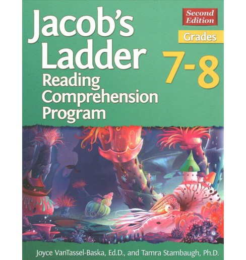 Jacob's Ladder Reading Comprehension Program, Grades 7-8 (Paperback) (Joyce VanTassel-Baska & Ph.D. - image 1 of 1