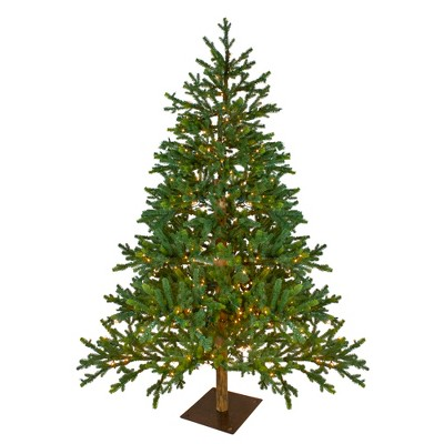 Northlight 6.5' Prelit Artificial Christmas Tree LED North Pine - Clear Lights