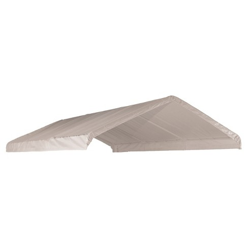 "Canopy Replacement Cover Fits 2"" Frame 12 X 20' - White - Shelterlogic - image 1 of 2"