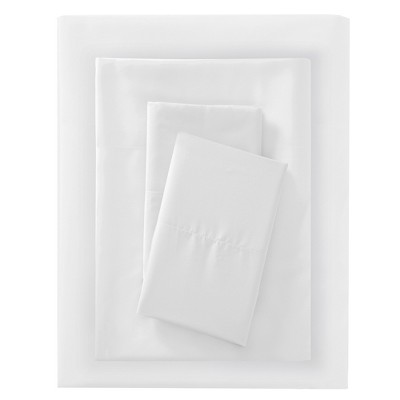Queen Microfiber Sheet Set White - Room Essentials™
