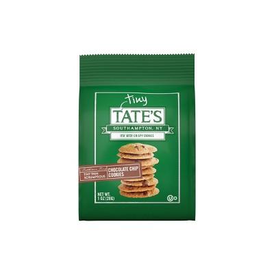Tate's Tiny Thin Scrumptious Chocolate Chip Cookies - 1oz