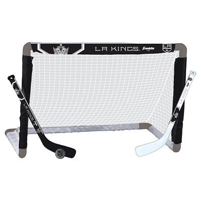 Franklin Sports NHL Los Angeles Kings Mini Hockey Set