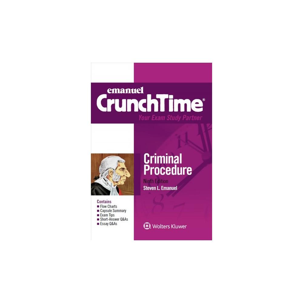 Criminal Procedure (Paperback) (Steven L. Emanuel)