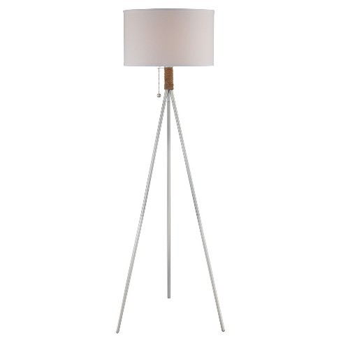 Trixie Floor Lamp Silver (Includes Energy Efficient Light Bulb) - Lite Source - image 1 of 2