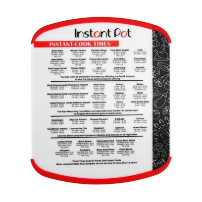 Instant Pot Cook Times Board
