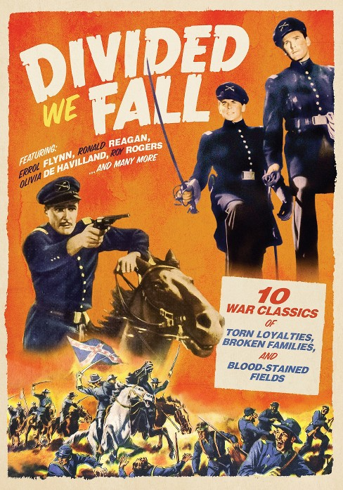 Divied We Fall: 10 Civil War Movies (3 Discs) (dvd_video) - image 1 of 1