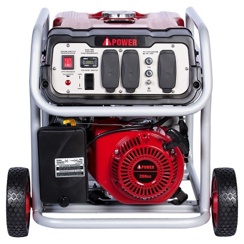4500 Watt Gasoline Powered Portable Generator Manual Start - A-iPower - image 1 of 4