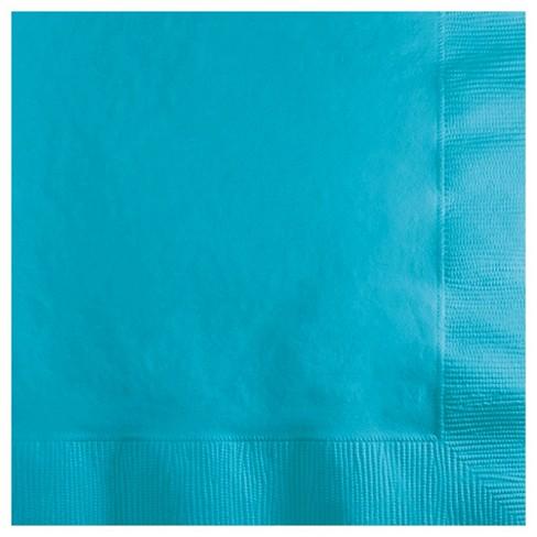 50ct Bermuda Blue Disposable Napkins - image 1 of 3