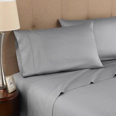 300 Thread Count Organic Cotton Solid Sheet Set - Modern Living