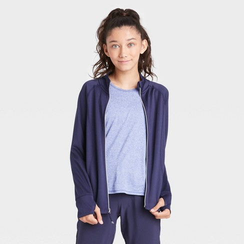 Girls' Performance Jacket - All in Motion™ - image 1 of 4