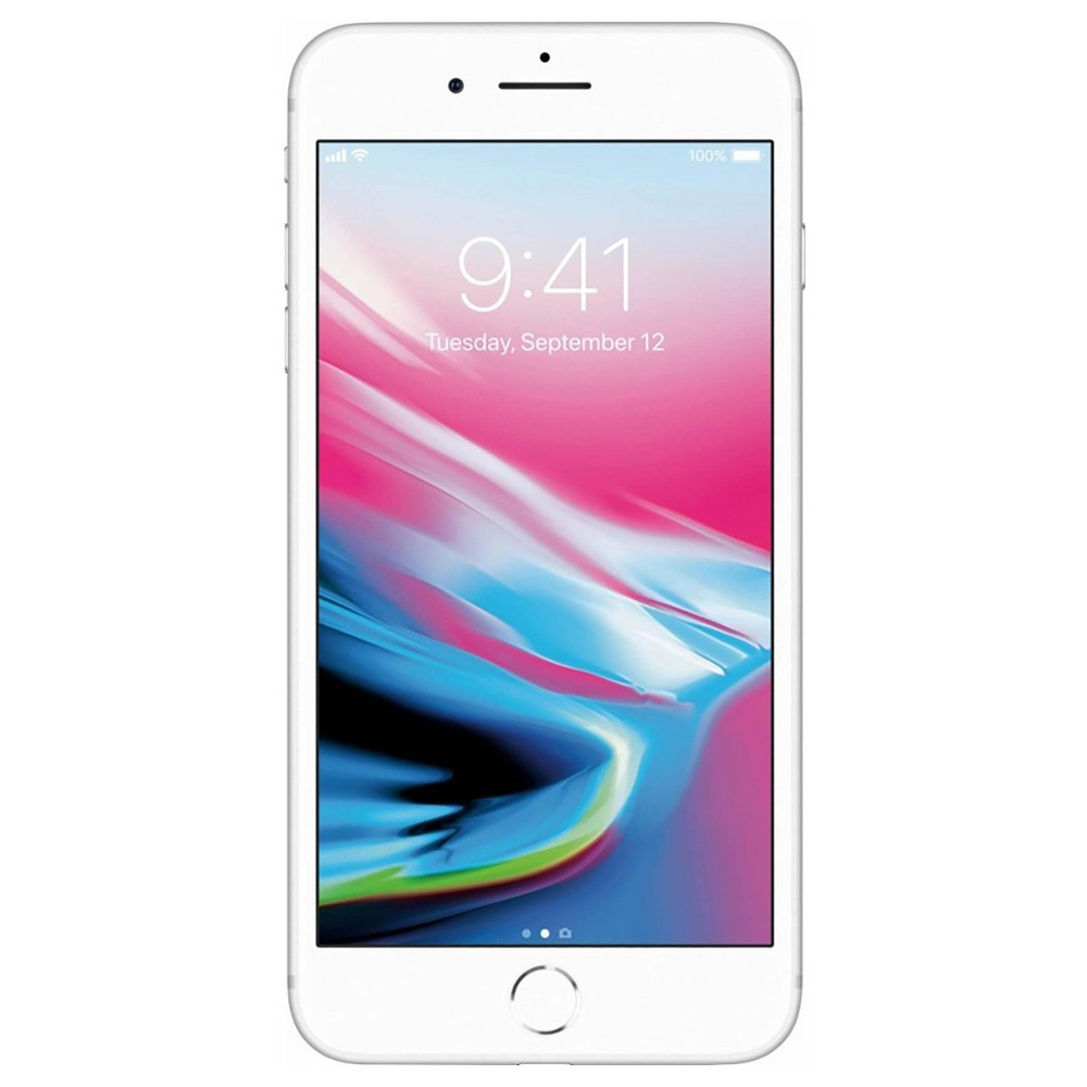 Apple iPhone 8 Plus Pre-Owned (GSM-Unlocked) 64GB - Silver