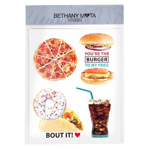 Bethany Mota Junk Food Stickers - image 1 of 1