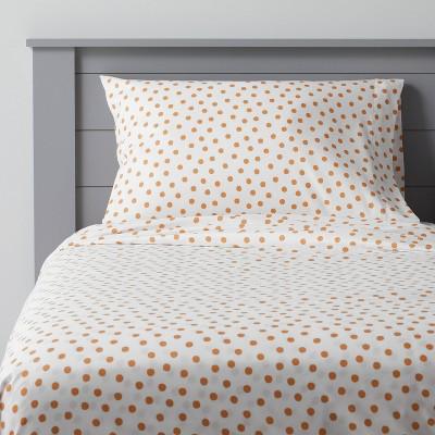 Dotted Microfiber Sheet Set - Pillowfort™