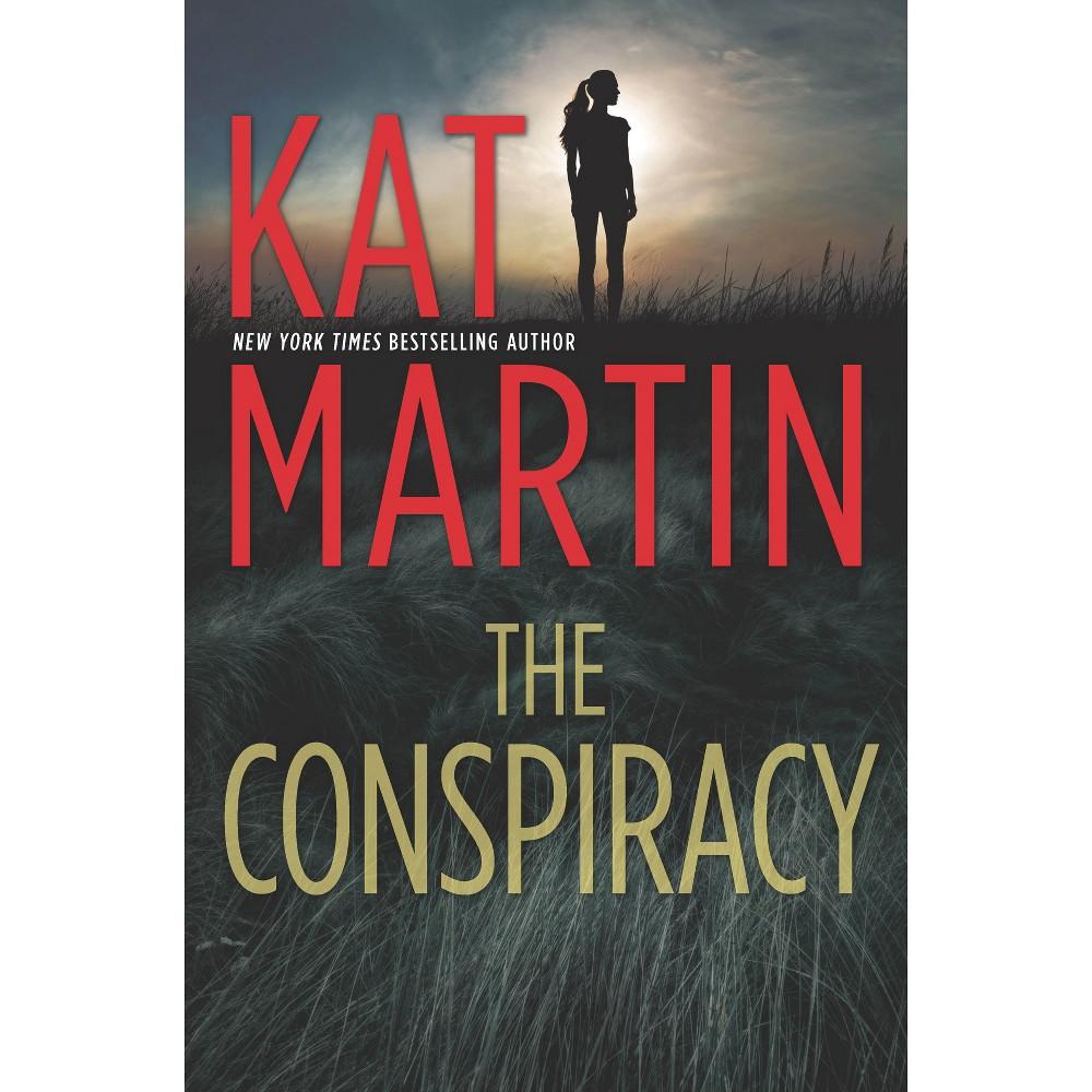 Conspiracy - (Maximum Security) by Kat Martin (Hardcover)