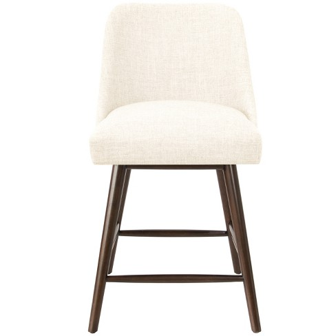 Excellent 27 Geller Modern Counter Stool Off White Linen Project 62 Evergreenethics Interior Chair Design Evergreenethicsorg