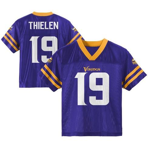 best service c5a55 bec49 NFL Minnesota Vikings Boys' Thielen Adam Jersey