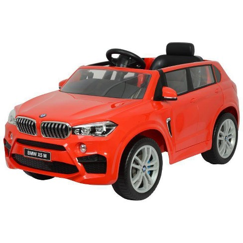 Best Ride On Cars 12V BMW X5 Powered Ride-On - Red - image 1 of 4