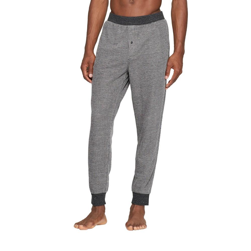 Men's French Terry Jogger Pajama Pants - Goodfellow & Co Dark Gray M