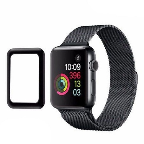 Valor Tempered Glass LCD Screen Protector Film For Apple Watch Series 1 38mm Watch Series 2 38mm Watch Series 3 38mm - image 1 of 2