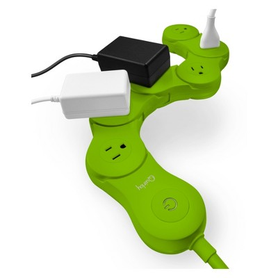Quirky Pivot Power Surge Protector Surge Protector Green