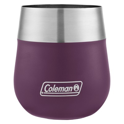 Coleman 13oz Insulated Claret Wine Glass - Violet