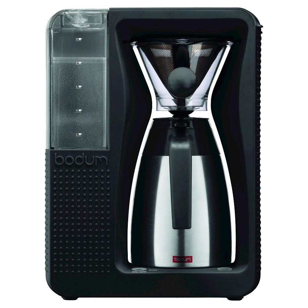 Bodum Bistro Automatic Pour Over Coffee Machine with Thermal Carafe, Black 21464659