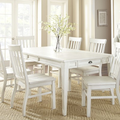 & Cayla Dining Table White - Steve Silver : Target