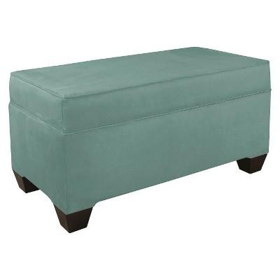Skyline Custom Upholstered Box Seam Bench - Skyline Furniture®