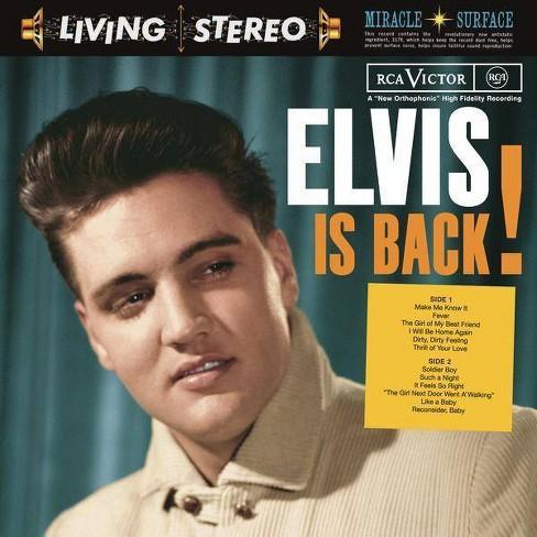 Elvis Presley - Elvis Is Back (CD) - image 1 of 1