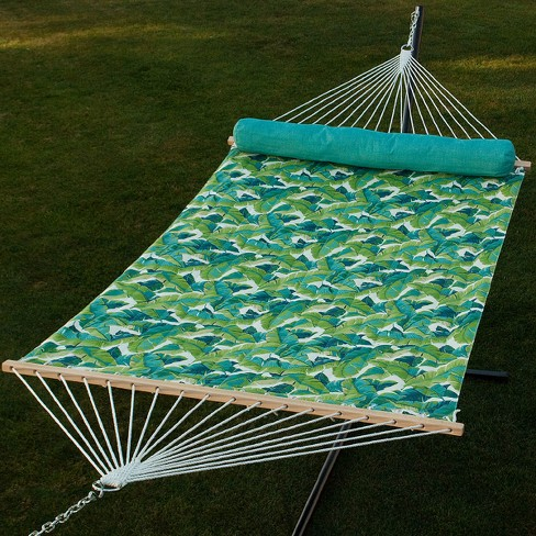 13' Quilted Hammock with Matching Pillow - Green - Algoma - image 1 of 1