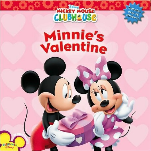 Disney Mickey Mouse Clubhouse, Minnie's Valentine (Paperback) by Sheila Sweeny Higginson - image 1 of 1