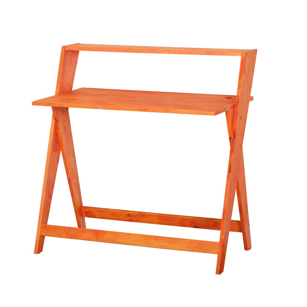 Scissors Study Desk - Orange - Buylateral