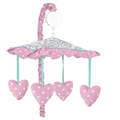 Sweet Jojo Designs Skylar Musical Mobile - Pink
